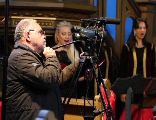 DOBNET natáčel on-line koncert Ludus Musicus